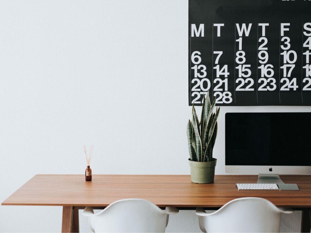 Remote Working Office Desk