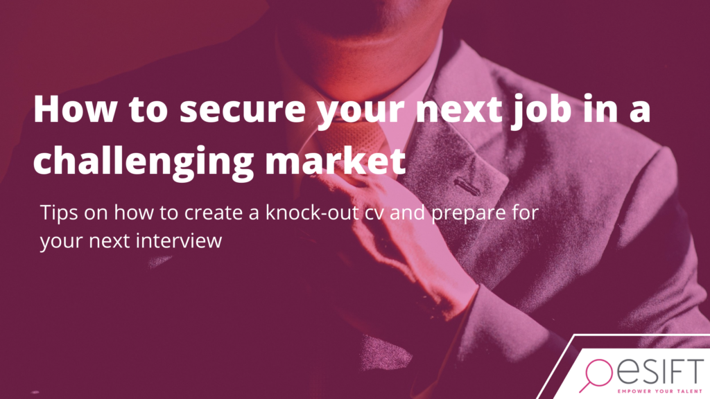 Secure your next job during a pandemic